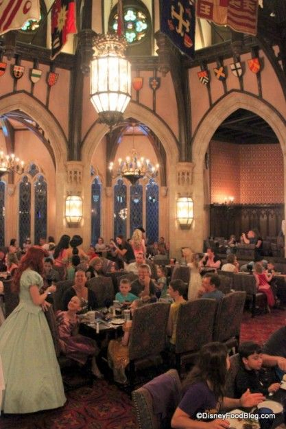 Review Cinderella S Royal Table Dinner In The Magic Kingdom The Disney Food Blog Cinderella Royal Table Disney World Restaurants Best Disney World Restaurants