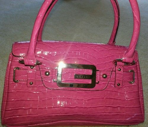 Pink Guess Handbag Ebay
