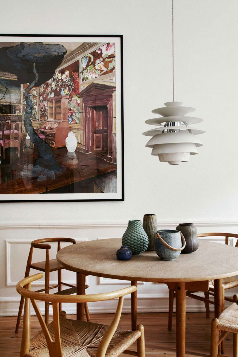 The Beautiful Copenhagen Home Of A Vintage Scandinavian Design Collector Nordicdesign Scandinavian Dining Room Dining Room Design Scandinavian Decor