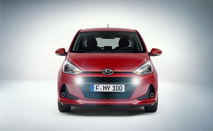 Hyundai Unveils Grand I10 Facelift Ahead Of Official Debut In Paris Hyundai Cars Hyundai Hyundai Motor