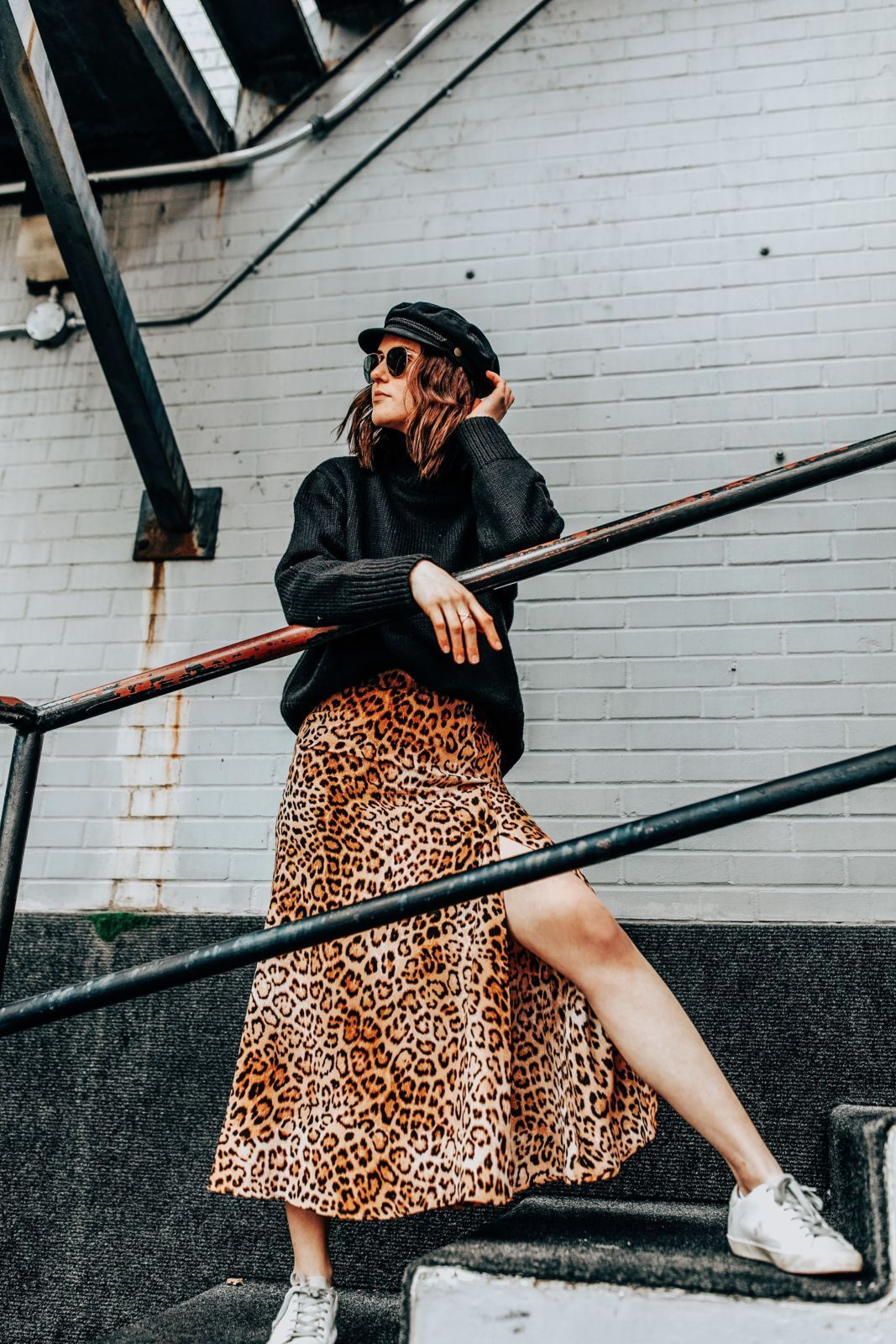 be3a79c51e How To Wear One Leopard Print Skirt 3 Ways