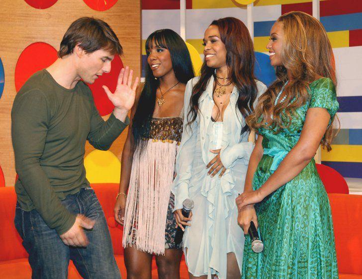 Pin for Later: 18 Promis denen Beyoncé ganz schön den Kopf verdreht hat Tom Cruise