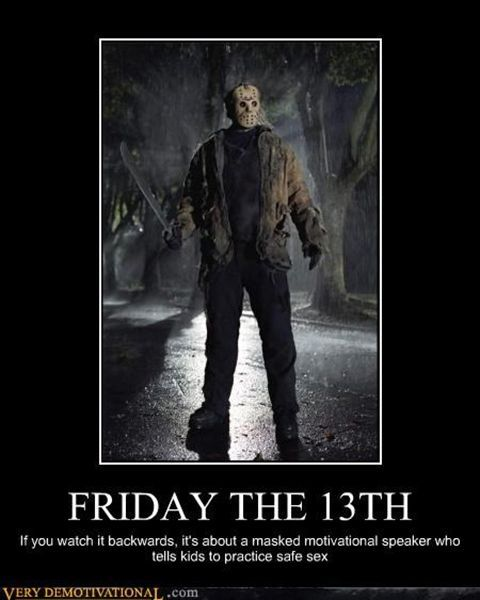 27fd30bc9ee596ed8acbf9afa923796b here are some friday the 13th memes to get you through the day