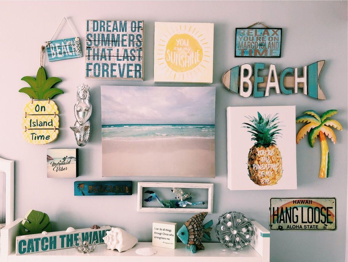 Vsco Carolkirbyy Beach Room Decor Surf Room Beach Themed Room