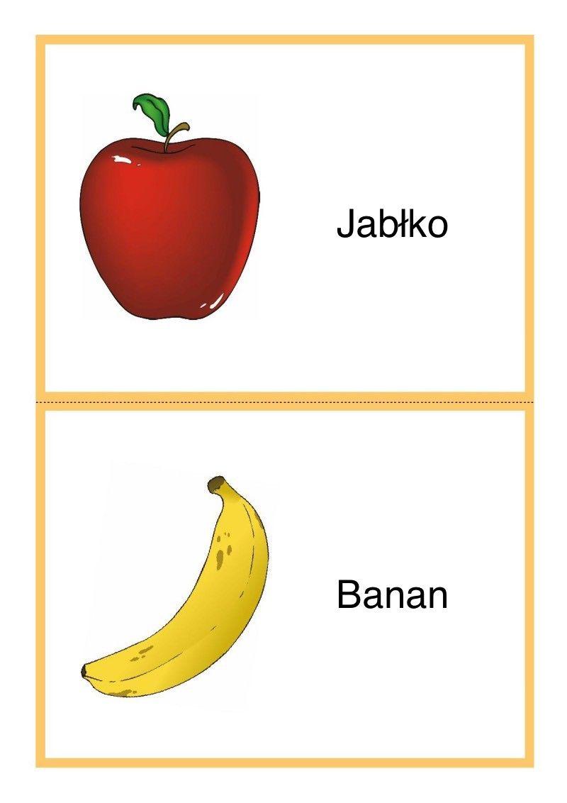 Tablice Edukacyjne Owoce Do Druku 1 Education Pie Chart Banan