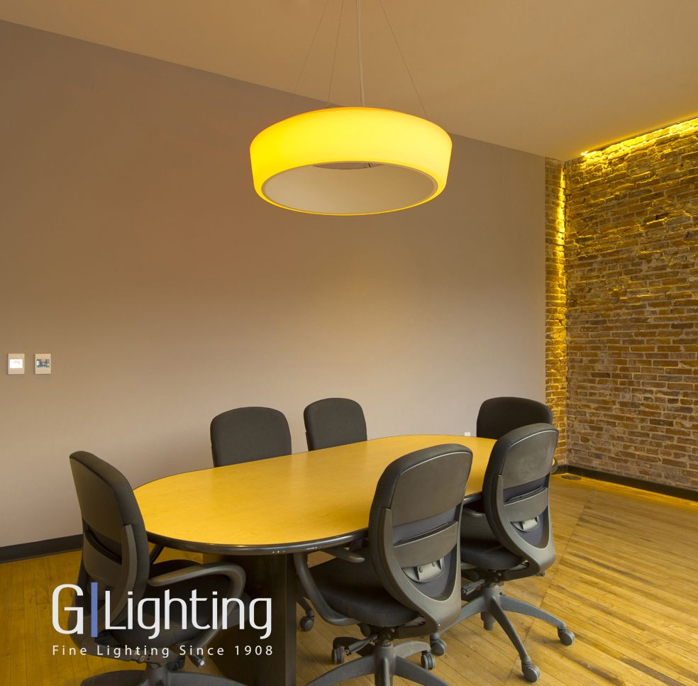 Our Helio Pendant W Color Changing Led Installed At St