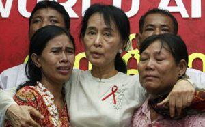Aung San Suu Kyi nommée ambassadrice mondiale de l'ONUSIDA