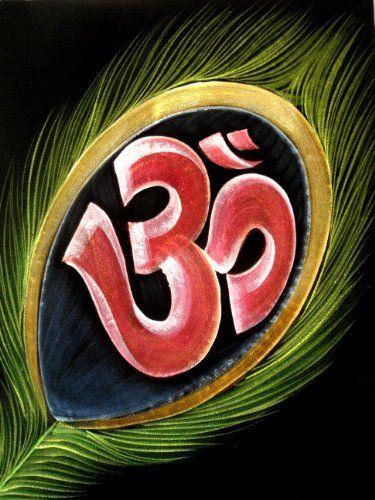 Indian God Sign Holy Om Shiva Symbol Aum Sign Indian Religious