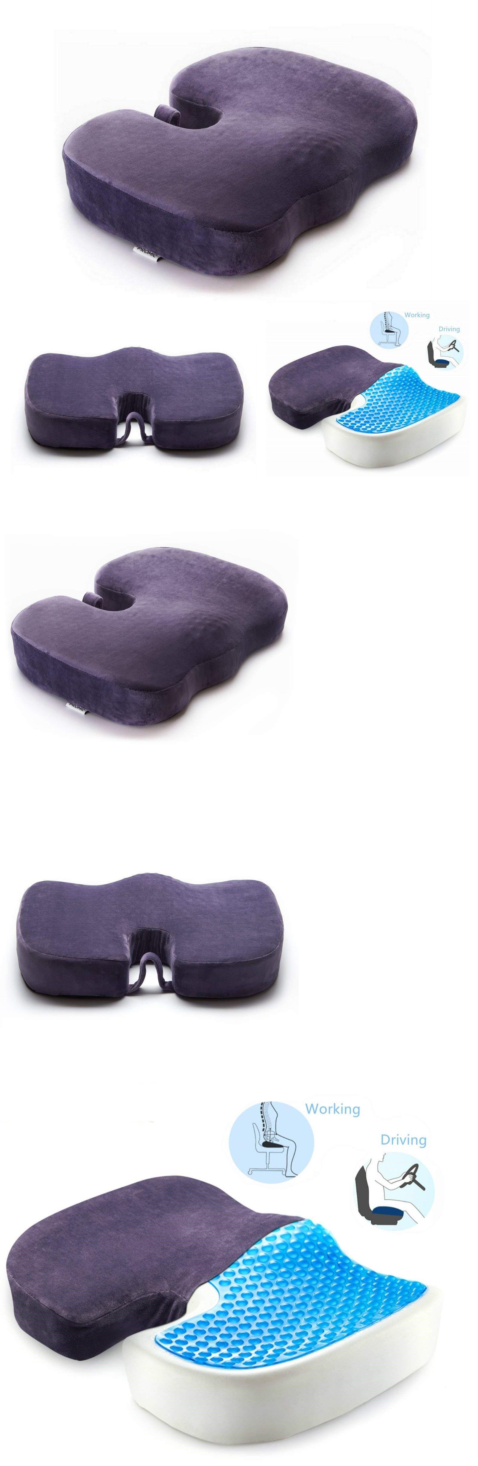 Memory foam cushion seat pillow orthopedic car home office chair