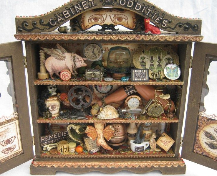 cabinet of oddities.