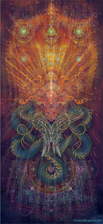 psychedelic goa acid artwork BREAKING BAD TOXIC blotter art