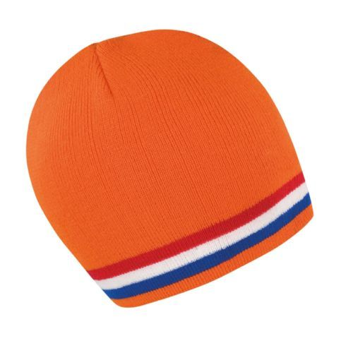 Soccer-Football-Team-Beanie-Hat-In-4-Dutch-Holland-Netherlands -Colours-One-Size f022f00c9a1