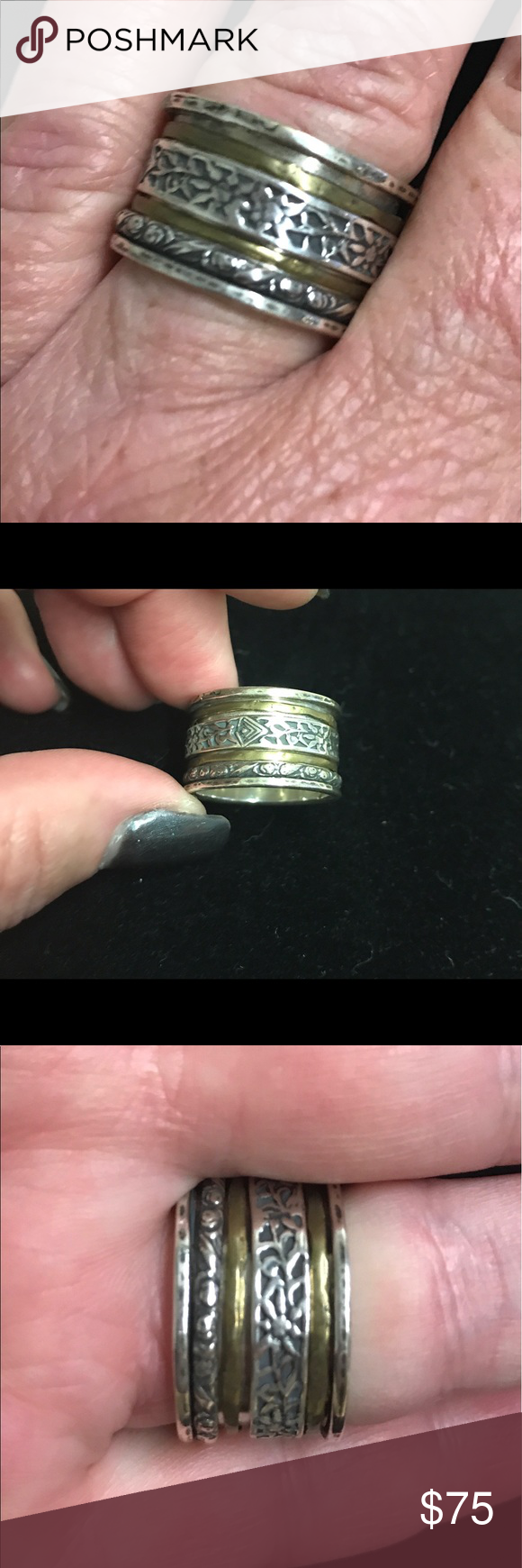 Reduced to sell! Silpada chunky ring, size 10 | Silpada jewelry ...