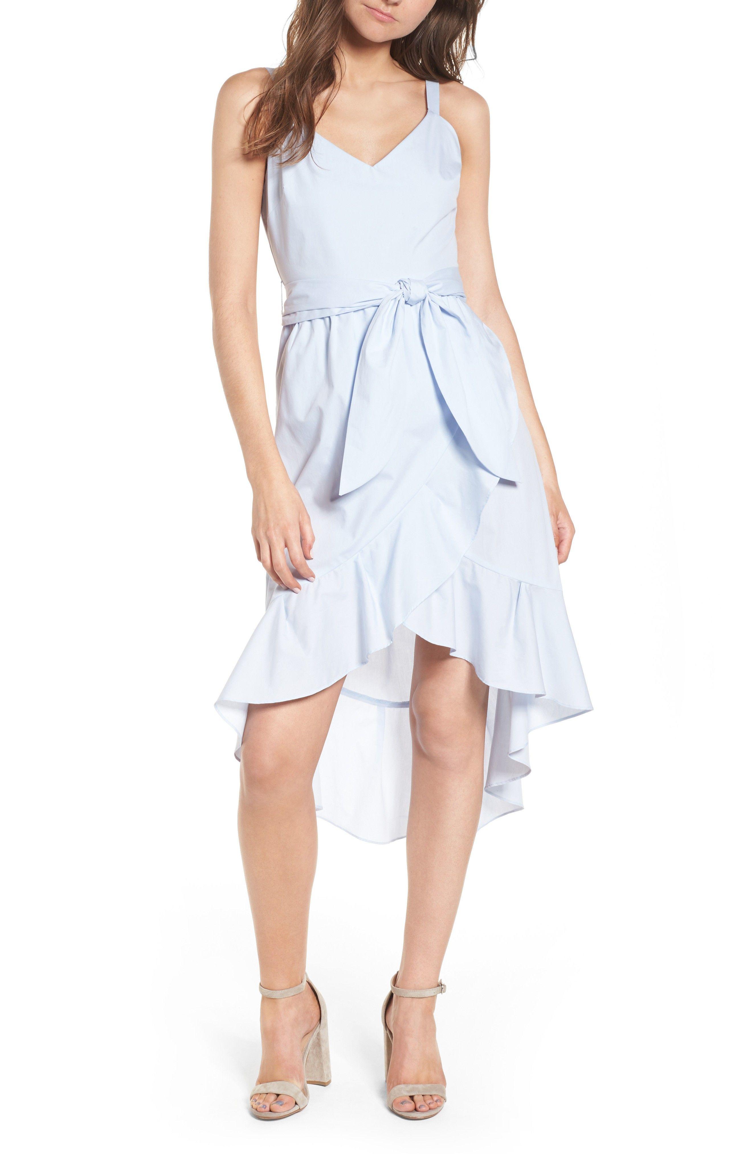Poplin Tie Waist Dress | Dresses, Tie waist dress