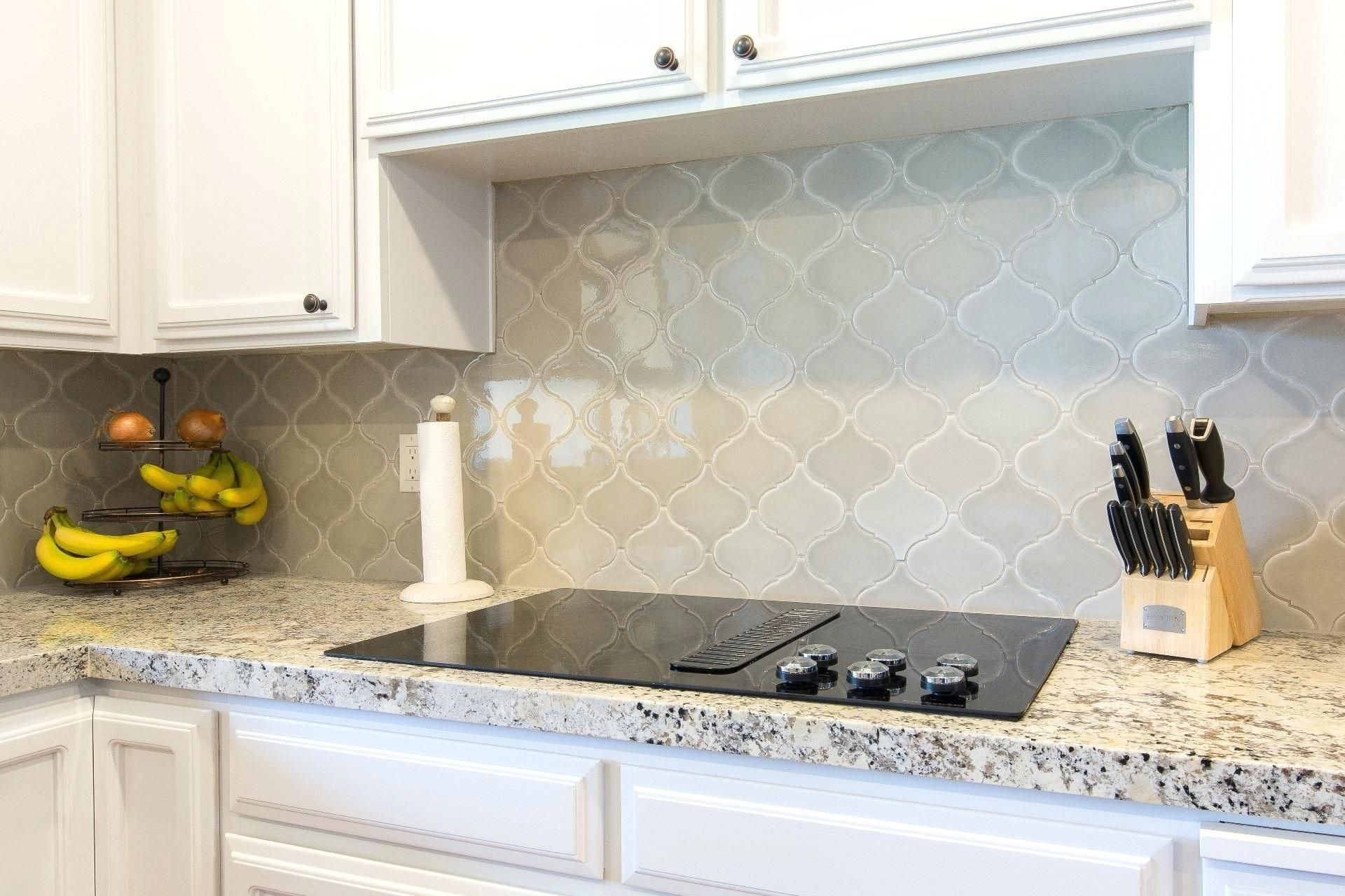 Beveled Arabesque Tile Backsplash Winning Arabesque Tile Blue