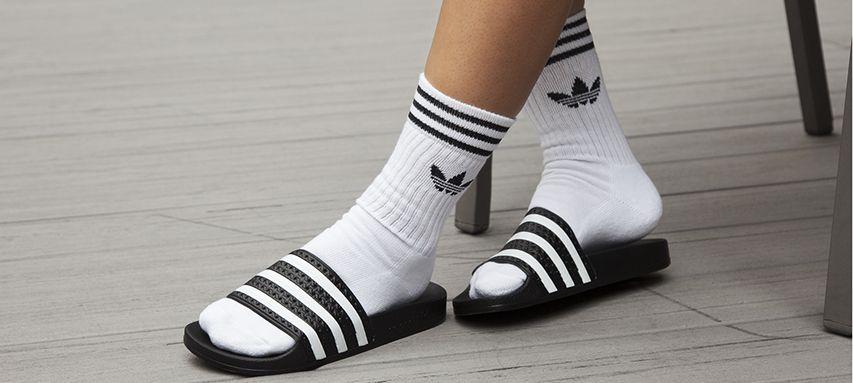 933813066e19 Adidas Adilette Flip Flops for Men
