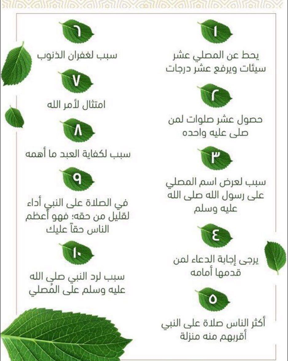 قصص نوره مع الحوقلة On Instagram فضل الصلاة على النبي