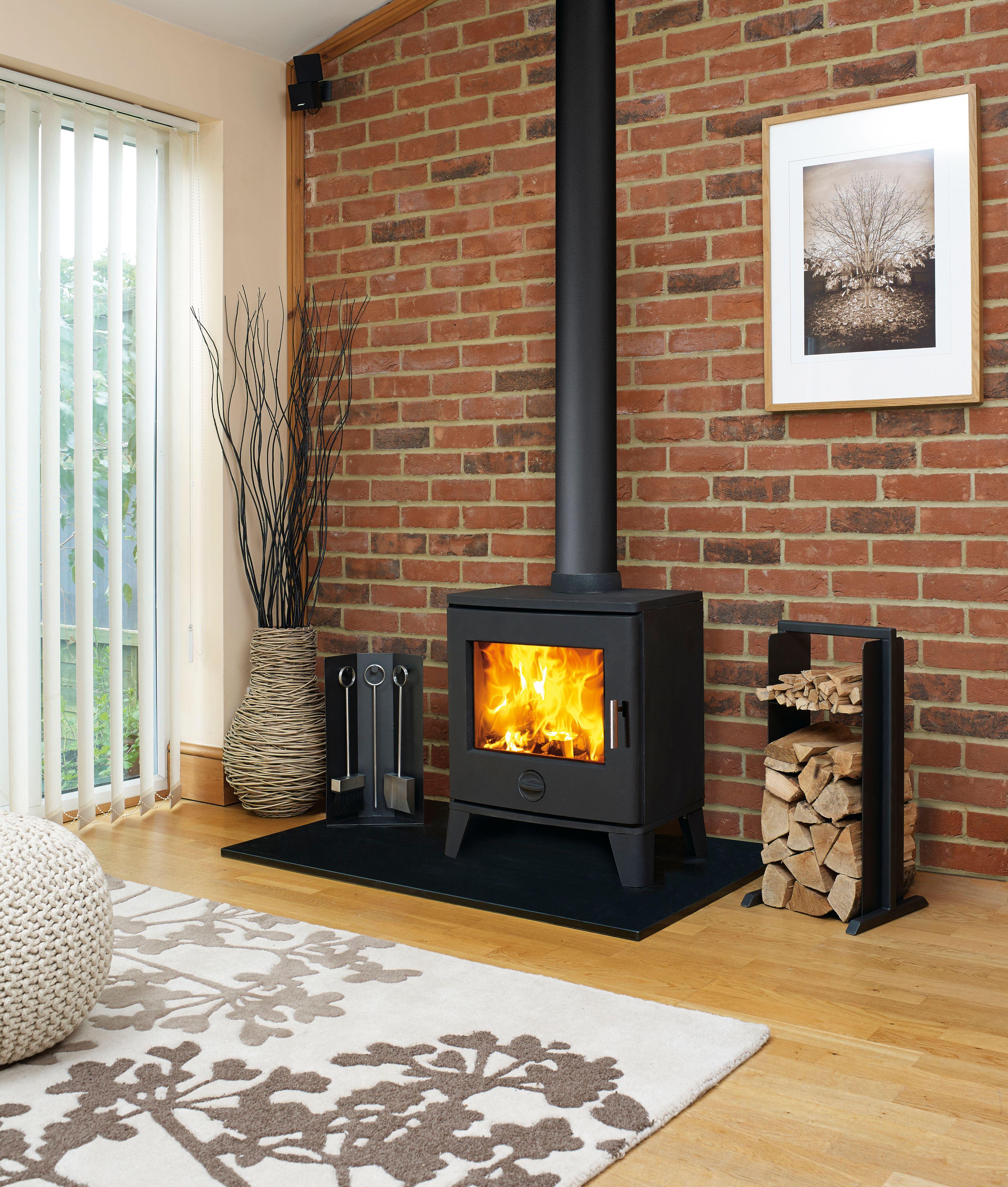 Scene 790 Multifuel or Wood burning Top or rear flue | Capital ...