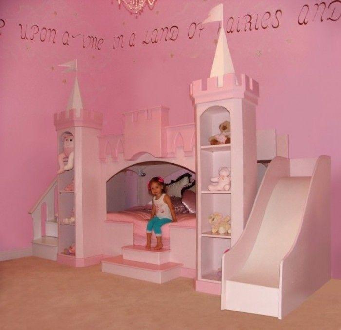 princesscastlebedannabelle Make Your Children's Bedroom Larger Using Bunk Beds