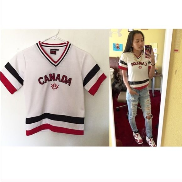 Canada sports shirt/jersey Sturdy material. Still up for sale Tops