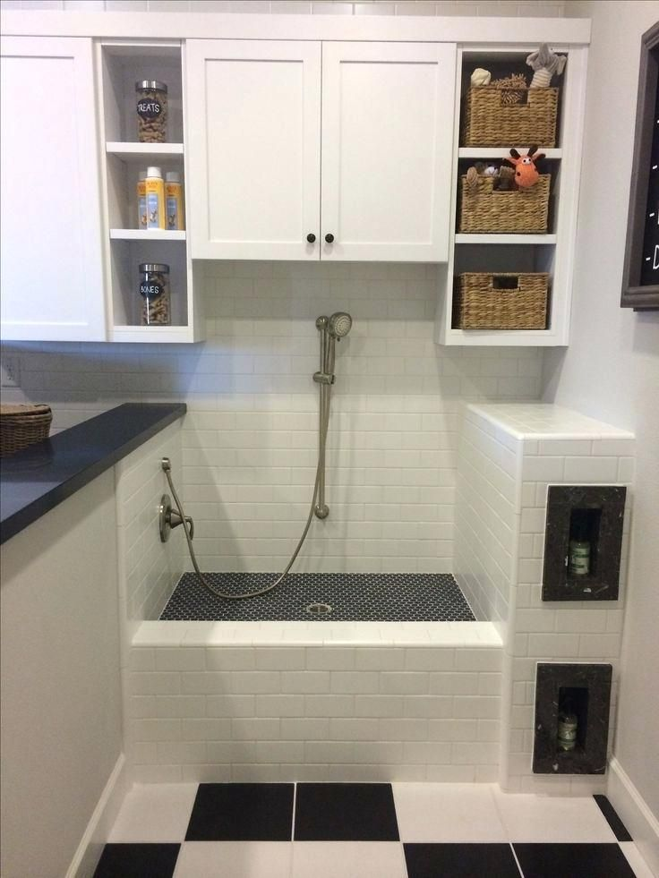Image result for dog wash station in laundry room