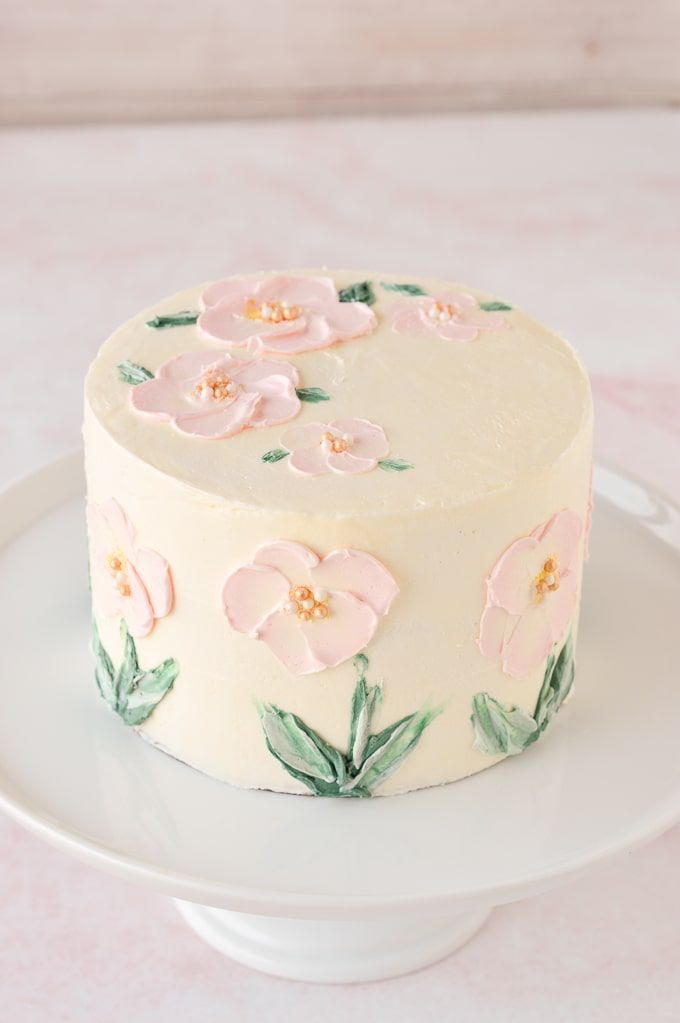 How to Paint a Cake