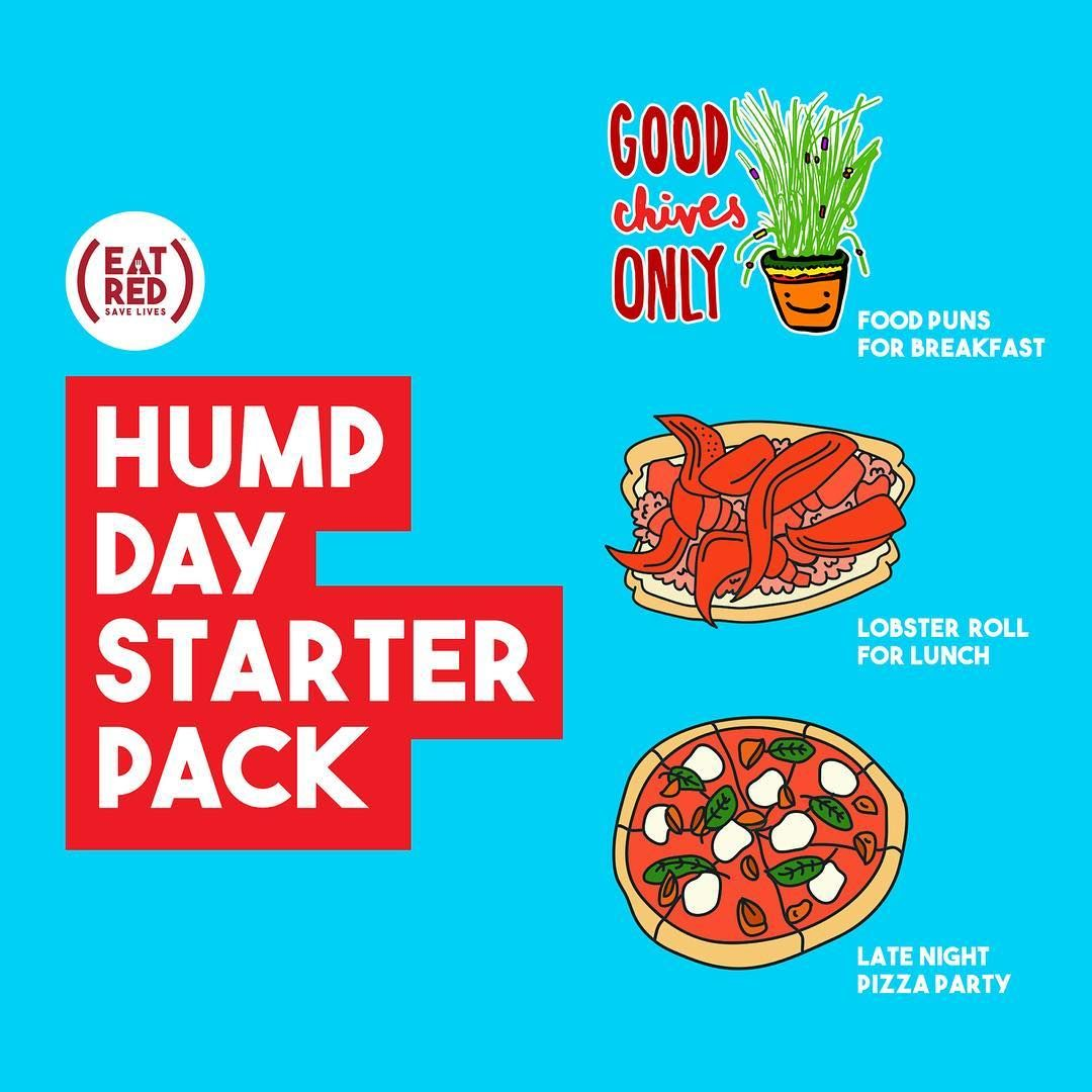 How to EAT (RED) on #HumpDay.