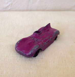 Vintage Tootsietoy Diecast Purple Jaguar Race Car Race Cars Diecast Jaguar