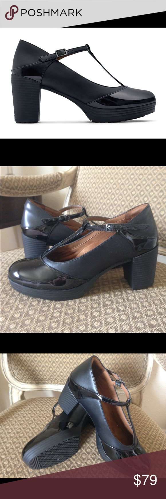 Women S Black Dress Shoes Like New Women S Dress Shoe Style 57280 Shoes For Crews Faux Leathe Womens Black Dress Shoes Dress Shoes Womens Black Dress Shoes [ 1740 x 580 Pixel ]