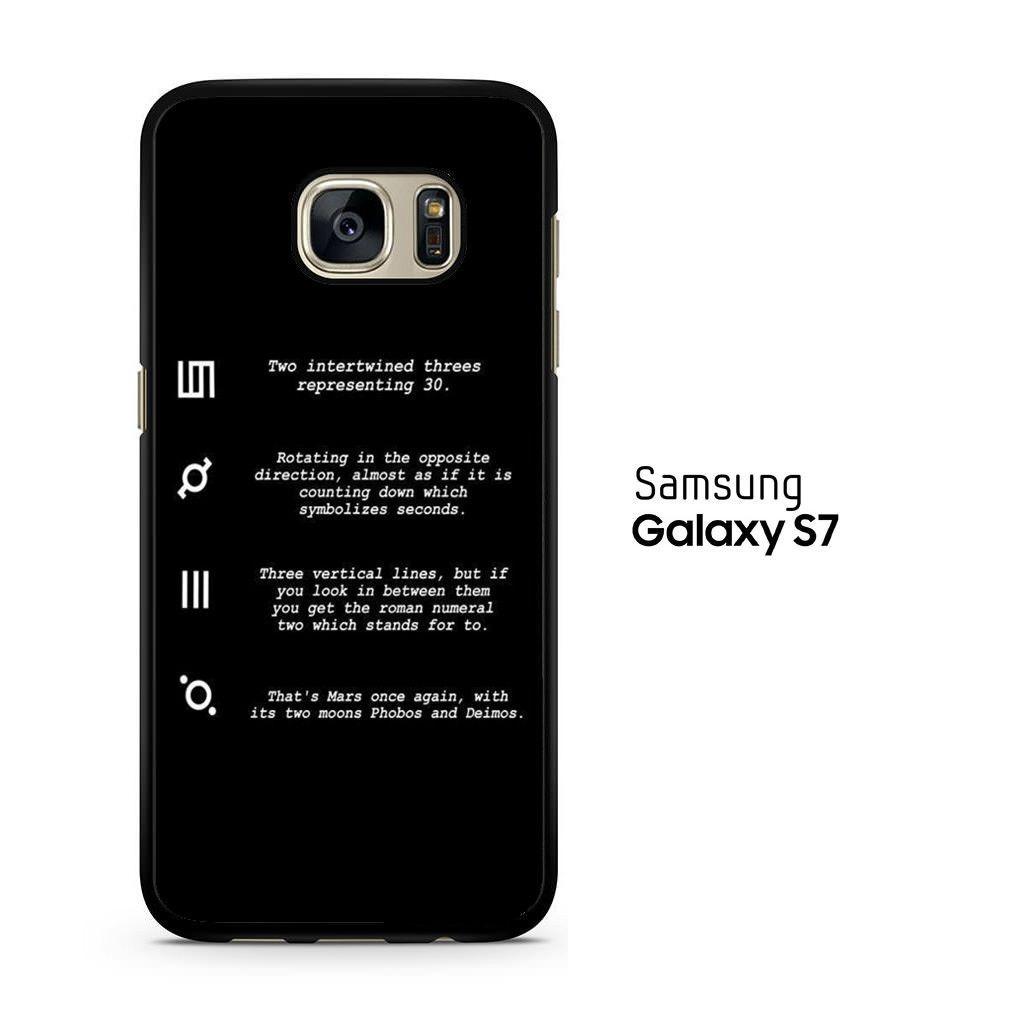 30 Second To Mars Symbol Definition Samsung Galaxy S7 Case