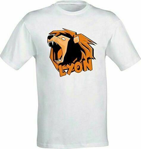 WGF WhenGamersFail Youtube Il Vero Leone T-Shirt Lyon Youtuber Italia