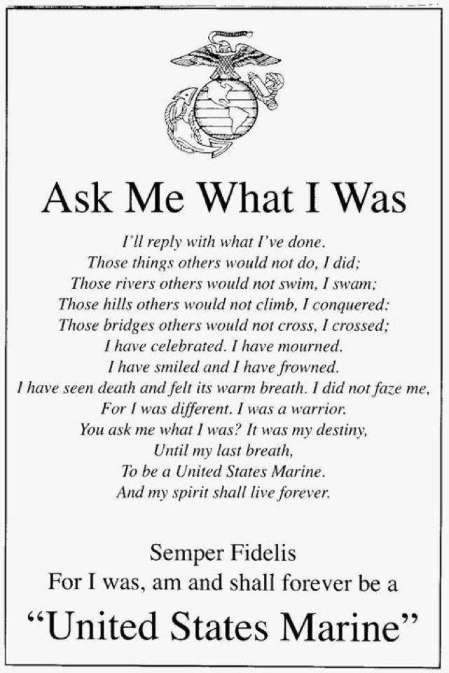 Marine corps lingo