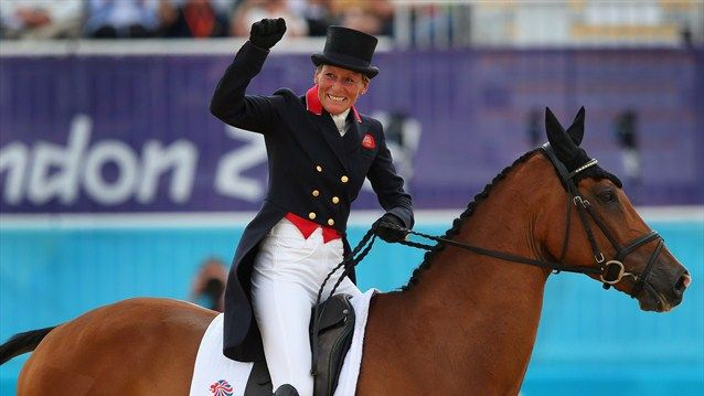 Mary King Of Great Britain Riding Imperial Cavalier In The