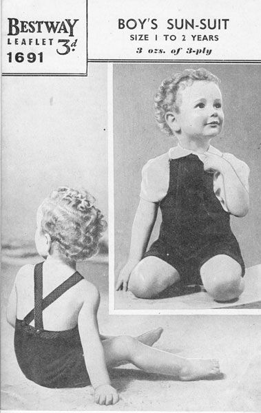 8493b2076da9a Knitting Patterns · Sewing · Baby · Clothes · sun suit 1940s - - Yahoo  Image Search Results Vintage Umbrella