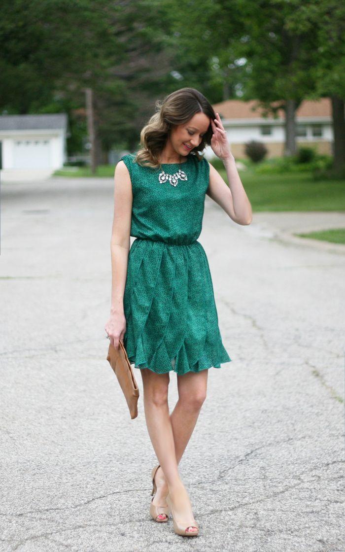 5c339292b83 emerald summer dress - www.lovelucygirl.com Emerald Green Dresses