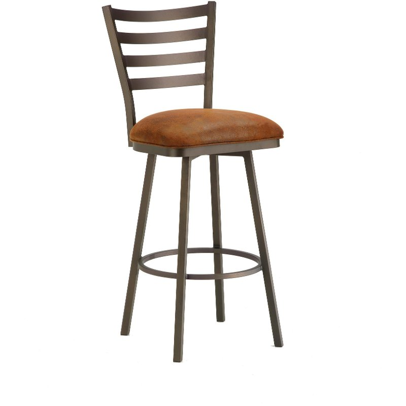 Tioga 26 Inch Swivel Counter Height Stool Swivel Bar Stools