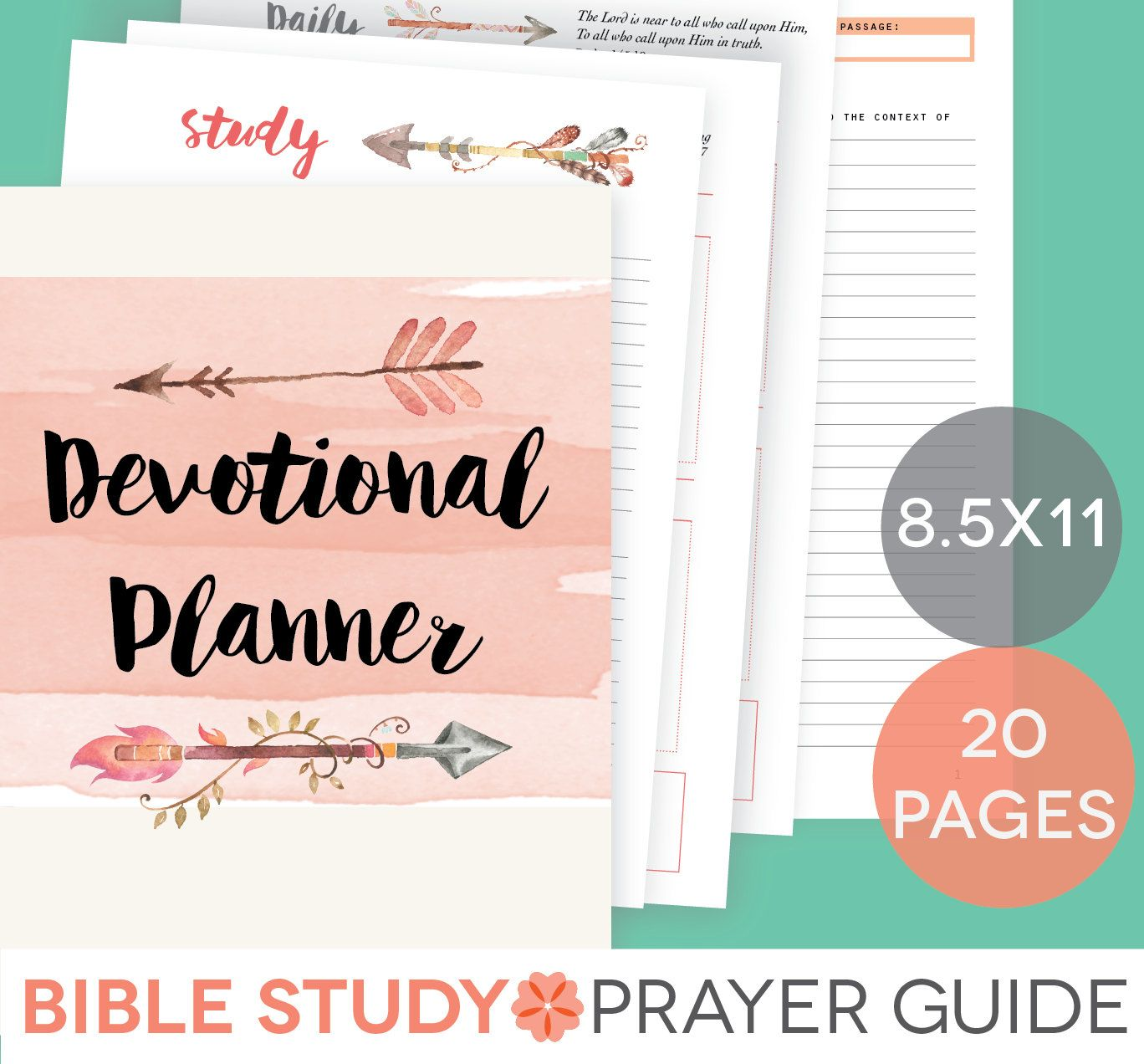 Daily Devotional Printable Set