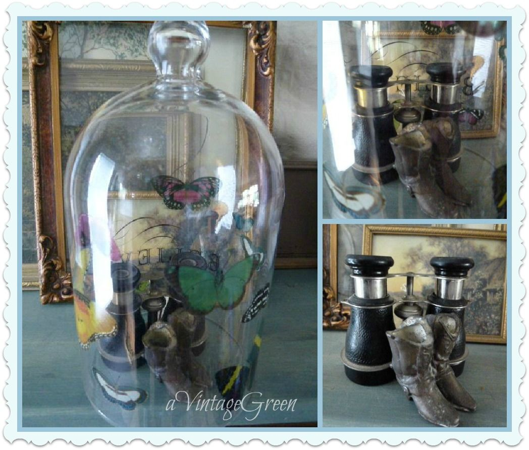 a Vintage Green: Display and Preserve