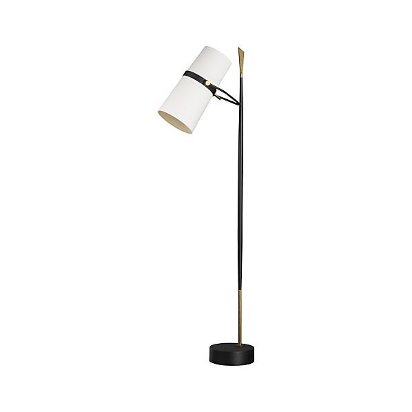 Riston Floor Lamp + Reviews   Crate and Barrel   Lamp ... on Riston Floor Lamp  id=87870