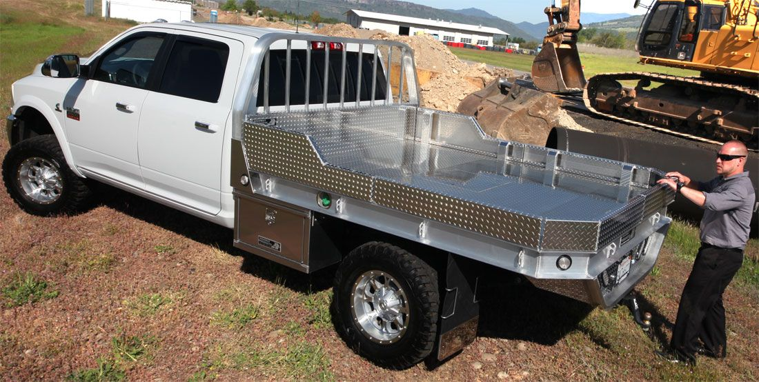 Highway Products aluminum truck flatbeds built to your