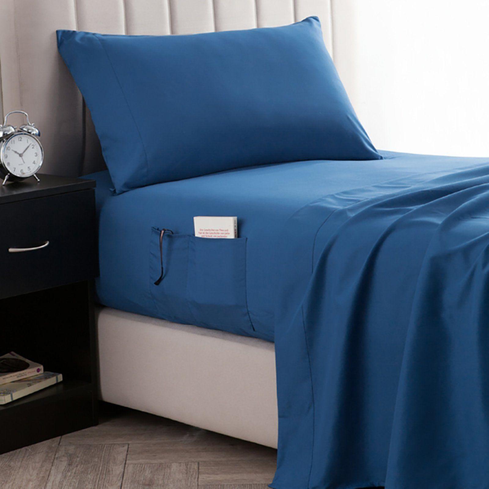 Bedside Pocket Sheet Set By Byourbed Glacier Gray Size Full Xl