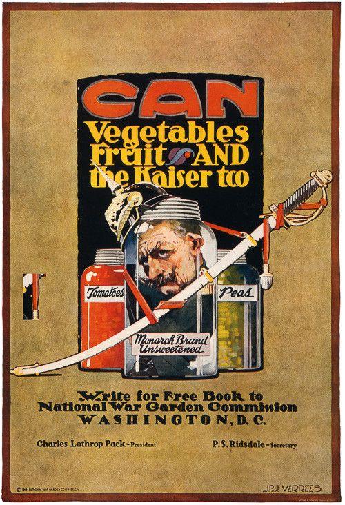 Wwi propaganda lick the kaiser