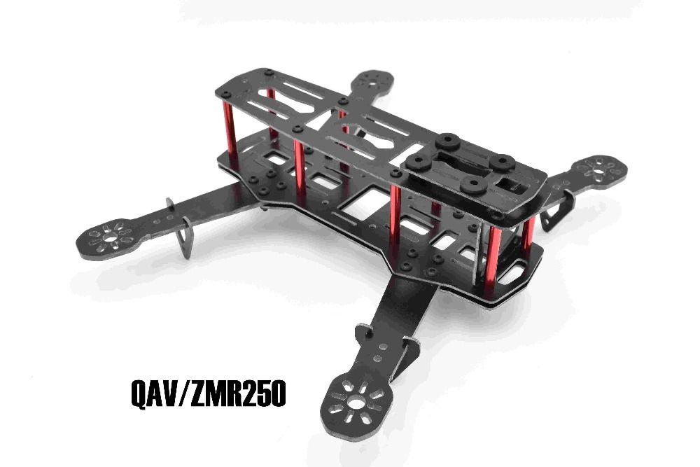 ZMR250 H250 250mm Marco de Fibra de Vidrio Kit de 4 Ejes Mulitcopter ...