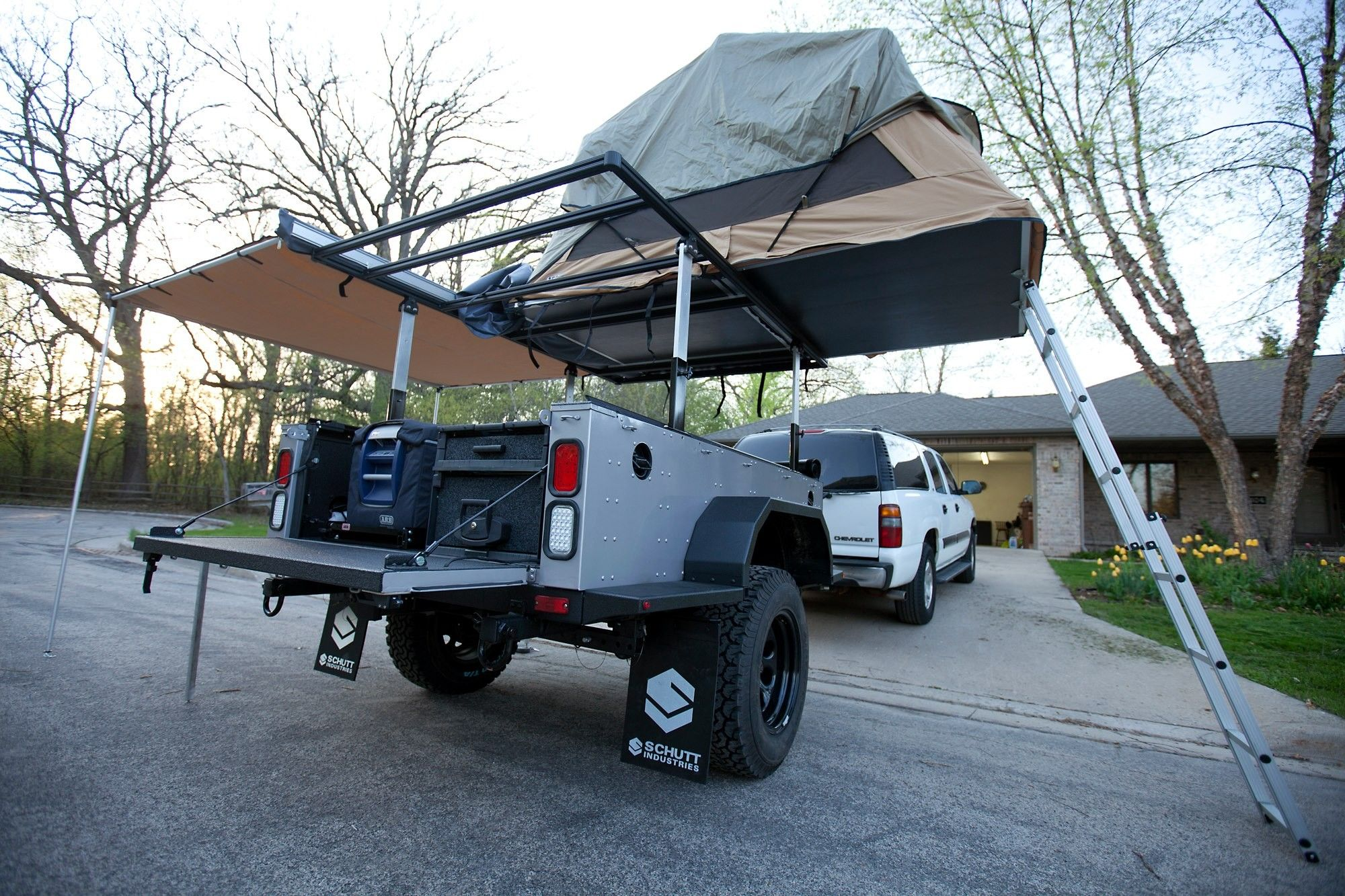Bug Out Tent Camper Trailer - Year of Clean Water