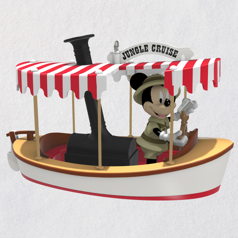Disney Jungle Cruise Mickey Mouse Set Sail for Adventure