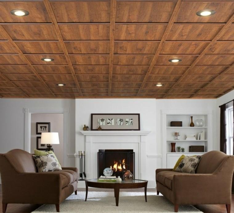 False Modern Design Ceiling Fifty Models Plafond A Caissons