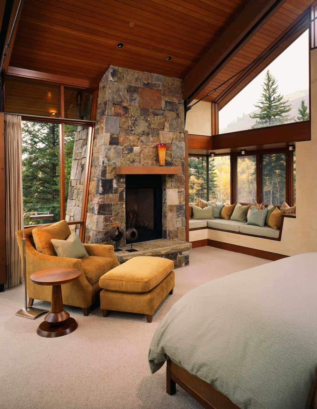 modernrustic mountain dwelling with picturesque setting