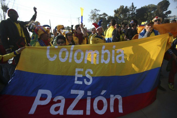 Así vivieron los hinchas colombianos el partido   ELESPECTADOR.COM