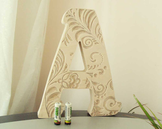 Decoration, wooden letters, home decor, Wood, Fathers Day Gift ...