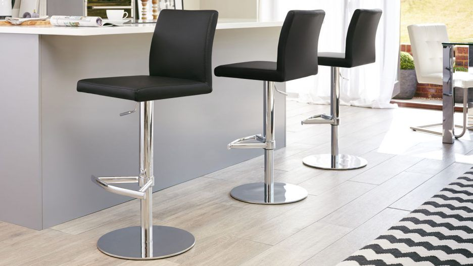 Elegant Bar Stool Height Chairs Ideas With Stainless Steel Modern